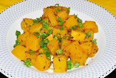 Recipe for Yummy squash/ pumpkin hot salad- full of healthy herbs and spices- a great way to get your Orange- Color foods! Recipe for Yummy squash/ pumpkin hot salad- full of healthy herbs and spices- a great way to get your Orange- Color foods! Healthy Herbs, Healthy Recipes, Ayurveda, Cook At Home, Easy Food To Make, Squash, Sweet Potato, Spices, Pumpkin
