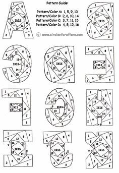free printable iris folding patterns by BethL Iris Folding Templates, Iris Paper Folding, Iris Folding Pattern, Book Folding, Paper Pieced Quilt Patterns, Mosaic Patterns, Quilling Patterns, Crochet Patterns, Pliage D'iris
