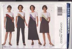 STRETCH KNIT PATTERN Butterick 5413  Misses Dress by retrochick66, $6.20