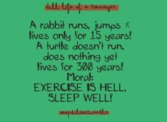 """Check out chloe johnson's """"exercise is hell"""" Decalz @Lockerz"""