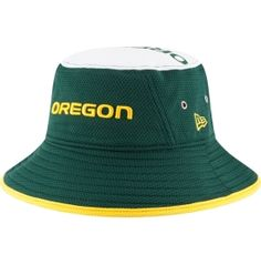 New Era Men s Oregon Ducks Green Logo Topper Bucket Hat  6d2c4131e4e