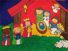 het kerstverhaal kathleen amant - Google zoeken Christmas Crafts For Kids, Xmas Crafts, Christmas Time, Christmas Cards, Merry Christmas, Advent, Xmax, Christian Religions, Anna