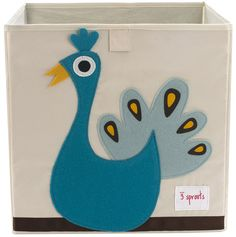 So want this for the nursery, peacock storage box