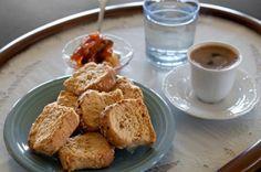Καλημέρα με Kρητικόκέρασμα ~  Κι' όμως… σερβίρεται ακόμα έτσι ο καφές στην Κρήτη    by Chania Crete Nikos