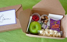 Summer Travel - How to make personal snack boxes