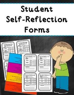 FREEBIE! Student Self-Reflection Forms