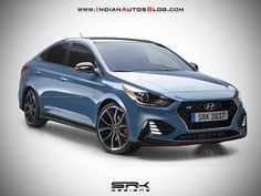 How about a New #Hyundai #Verna N variant? - #IAB #Rendering