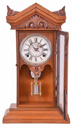 Antique 1882 Wm L Gilbert Clock Co Winsted Connecticut 8