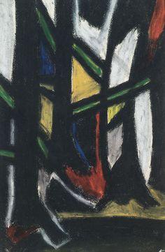 Werk von #Schwarzwald #Maler #Hermann Wiehl. Gemälde vom #Dix-Schüler und Freund. Wiehl spricht die Farbensprache des #Expressionismus und die Formensprache des #Kubismus. Die Begegnungen mit den Kollegen #Léger, #Picasso, #Chagall und #MaxBill, sowie #Ackermann haben ihn stark inspiriert.