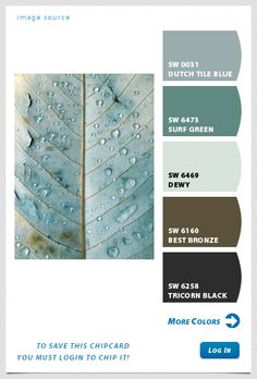 sherwin williams chip it! color palette creator