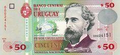 Mata Wang Uruguay (UYU) 50 Pesos Uruguayos #matawanguruguay