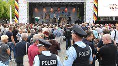 Dresden wird zur Festung: 750.000 Besucher zur Einheitsfeier erwartet