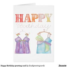 Got a special occasion coming up? Is it a birthday? Check out our selection of birthday cards on Zazzle to help celebrate the occasion! Happy Birthday Greeting Card, Birthday Cards, Greeting Cards, It's Your Birthday, Watercolour, Bday Cards, Pen And Wash, Watercolor Painting, Watercolor