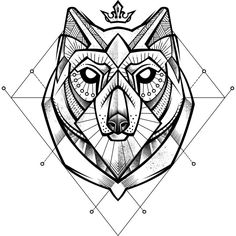 Husky Tattoo is a T Shirt designed by angoes to illustrate your life and is available at Design By Humans