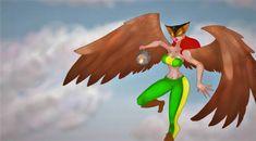 Hawk Girl by FlamingRedZombie Social Community, Worlds Largest, My Arts, Deviantart, Outdoor Decor, Artist, Artists