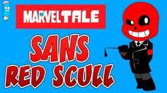 Как нарисовать Санса Редскула из Марвелтейл 😡 #андертейл #undertale [Мул...