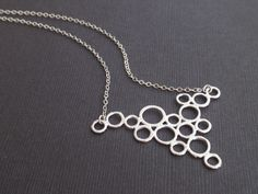 Multi Bubble Sterling Silver by siemprejewelry on Etsy, $26.00