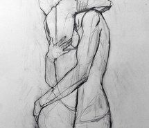 Inspiring image art, boy, couple, drawing, girl, hug, pencil, sketch #1808139 by patrisha - Resolution 640x942px - Find the image to your taste