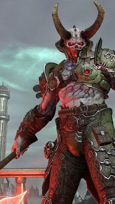 Another Cyberdemon by Trollfeetwalker Doom demons, Doom game