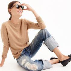 009e3e6d907075 Everyday cashmere crewneck sweater This new cashmere) sweater feels crazy  soft