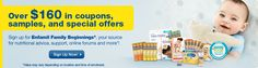 Expecting? Sign up and get $160 in free baby products from Enfamil!