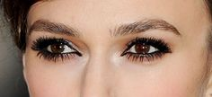 Kiera Knightley eye make up how to