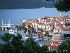 Island of Korcula is an attractive tourist destination with a mild Mediterranean climate and rich cultural heritage. The coast has many coves and bays and is surrounded by islands of which some are even inhabited.