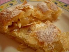 Mil y una recetas: Strudel de manzana