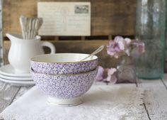 purple cafe au lait bowls love at first sight - Purple Cafe Ideas