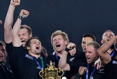All Blacks winning World Cup