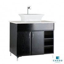 PEARL 868 STD FLOOR UNIT BLACK WOODGRAIN Wood Grain, Locker Storage, Vanity, Pearl, Flooring, Cabinet, Bathroom, Furniture, Black
