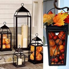 Large Rustic Metal Lantern Large Rustic Metal Lantern,Herbst What a great buy for a rustic lantern! These lanterns look great used as festive seasonal decor in your home. Displays a beautiful Iron finish Lantern. Rustic Lanterns, Lanterns Decor, Decorative Lanterns, Fall Lanterns, Porch Lanterns, Autumn Decorating, Porch Decorating, Budget Decorating, Fall Home Decor