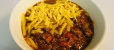 Low Carb Chili Recipe!