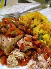 Slice of Southern: Slow Cooker Meal: Borracho Chicken