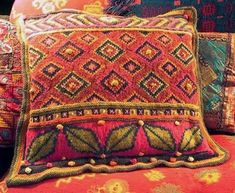 Kristin Nicholas -  - Turkish Motifs Pillow