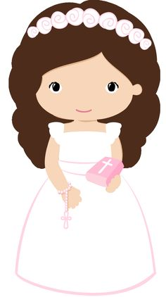 First Communion Silhouette girl VectorStock Communion Centerpieces, First Communion Decorations, First Communion Cards, Communion Gifts, First Holy Communion, Baptism Cookies, String Art Templates, Owl Classroom, Page Borders Design