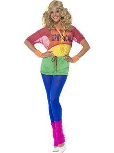 80's Let's Get Physical Girl Costume--inspiration for Bolder Boulder @Kathryn Polly