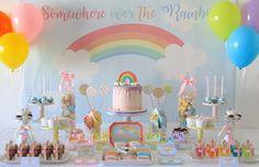Rainbow party - Fête à Porter - Festas de Charme by Andreia Lopes