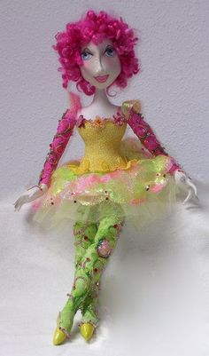 ** Video tutorials**  :)  Cloth Doll Patterns by Nancy Hall  you can do her in a gzillion ways, be  a great challenge doll.