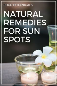 How To Get Rid Of Sunspots Naturally: Melasma, Liver Spots