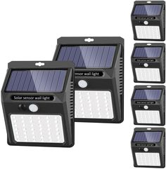 These motion sensor solar lights will not only provide extra security in your garden, fence, and garage but also make great outdoor lighting on your patio. The solar LED bulbs come with a 1-year warranty and a 60-day money-back guarantee. Solar Patio Lights, Best Solar Lights, Solar Flood Lights, String Lights Outdoor, Lighting Your Garden, Patio Lighting, Solar Security Light, Thing 1