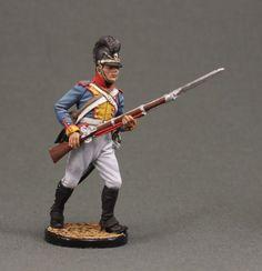 Fusilier 9th Line Regiment von Isenburg. Bayern, 1806-07 years.