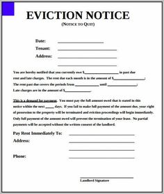 Sample eviction notice template 37 free documents in pdf word college graduate sample resume examples of a good essay introduction dental hygiene cover letter samples lawyer resume examples free resume template for teachers narrative essay thesis examples Letter Templates Free, Lesson Plan Templates, Resume Template Free, Writing Template, 30 Day Eviction Notice, Rental Agreement Templates, Employee Handbook, Narrative Essay, Cover Letter Sample