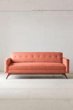 Mid century modern sofas for Spring #modernsofas #sofasdesign #tuftedsofa