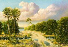 Jackson Walker Florida Artist, Florida History Paintings, Military History Paintings, Legandary Florida, US History, Florida Landscape Paintings