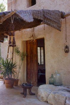 A rustic yet modern villa on Ibiza