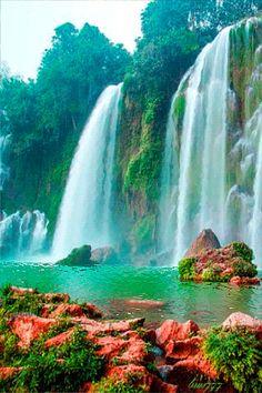 Wasserfall - Animation Telefon №1253400