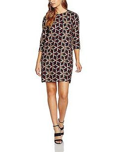 8 (Manufacturer Size: 0), Red (Wine), See u soon Women's 6223060 Dress NEW
