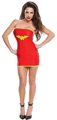 Rubies Costume Co Womens DC Superheroes Wonder Woman Tube Dress I want to be wonder woman for halloween she is incredible! #DCcomics #wonderwoman #halloween #halloween2017 #superhero