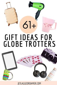 On the hunt for some travel gift ideas for your favorite globetrotter? Here I have the best travel gifts all travel lovers will love. Get the the best travel gift ideas for women and gift ideas for him. Whether they are a solo traveler or into adventure these are the top presents for travel lovers. Best Travel Gifts, Best Gifts, Trip Planning, Gifts For Women, Presents, Lovers, Gift Ideas, Adventure, Top
